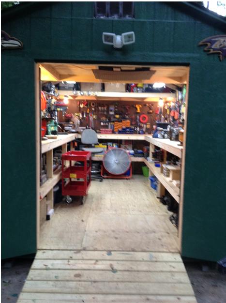 storage sheds garner
