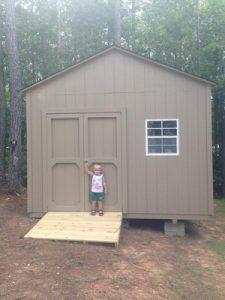Clayton large sheds, garner, nc, wooden sheds, Smartside sheds, sturdy sheds, storage buildings, tall storage sheds