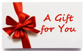 GIFT CERTIFICATES, GIFTS FOR HIM, GIFTS FOR HER, GREAT GIFT IDEAS